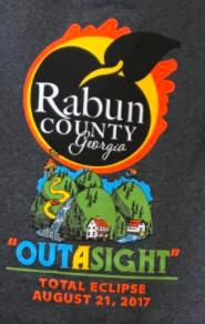 Rabun County total eclipse losgo